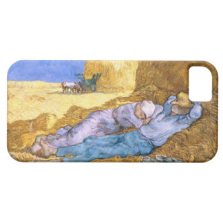 Vincent van Gogh | Noon, The Siesta, after Millet iPhone SE/5/5s Case