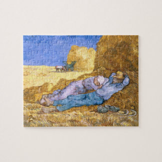 Vincent van Gogh | Noon, The Siesta, after Millet Jigsaw Puzzle