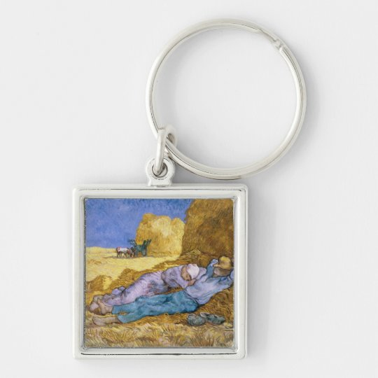 Vincent van Gogh | Noon, The Siesta, after Millet Keychain