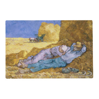 Vincent van Gogh | Noon, The Siesta, after Millet Placemat