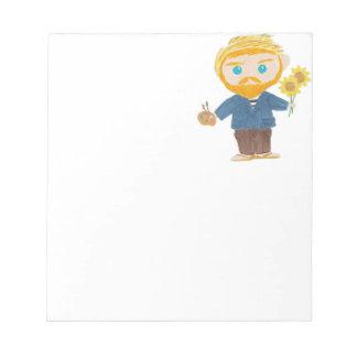 Vincent van Gogh Notepad