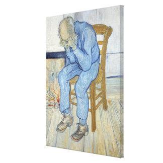 Vincent van Gogh | Old Man in Sorrow  Canvas Print