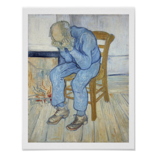 Vincent van Gogh | Old Man in Sorrow  Poster
