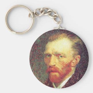 Vincent Van Gogh - Older Self Portrait Keychain