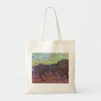 Vincent Van Gogh - Olive Grove Tote Bags