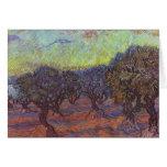 Vincent Van Gogh - Olive Grove Card