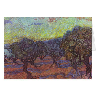 Vincent Van Gogh - Olive Grove Stationery Note Card