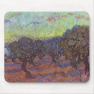 Vincent Van Gogh - Olive Grove Mouse Pad