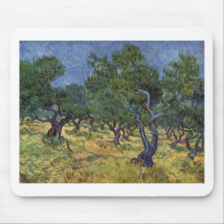 Vincent van Gogh - Olive Grove Mouse Pads