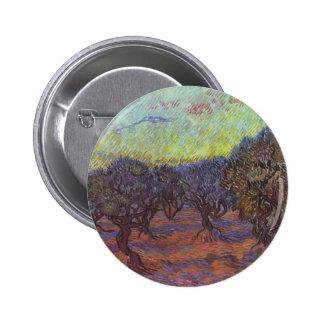 Vincent Van Gogh - Olive Grove Pinback Button