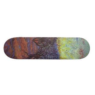 Vincent Van Gogh - Olive Grove Skateboard