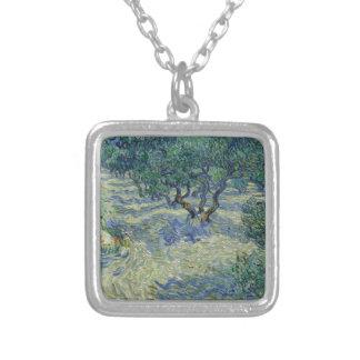 Vincent van Gogh - Olive Orchard Pendant