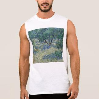 Vincent van Gogh - Olive Orchard Sleeveless Shirt