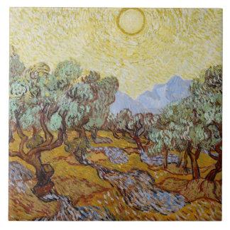 Vincent van Gogh | Olive Trees, 1889 Ceramic Tile