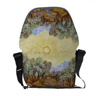 Vincent van Gogh | Olive Trees, 1889 Messenger Bag