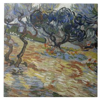 Vincent van Gogh - Olive Trees Ceramic Tile
