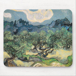 Vincent Van Gogh - Olive Trees with the Alpilles Mouse Pad