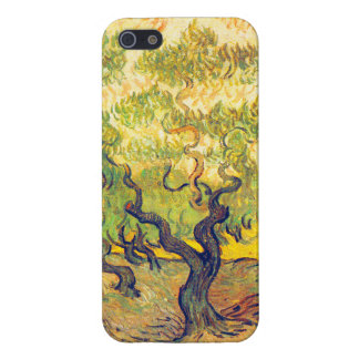 "Vincent van Gogh ""olivos "" iPhone 5 Carcasas"