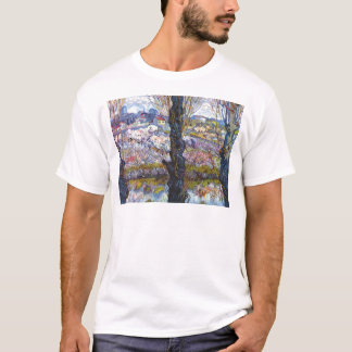 Vincent Van Gogh – Orchard In Bloom With Poplars T-Shirt