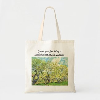 Vincent van Gogh,Orchard in Blossom Bags