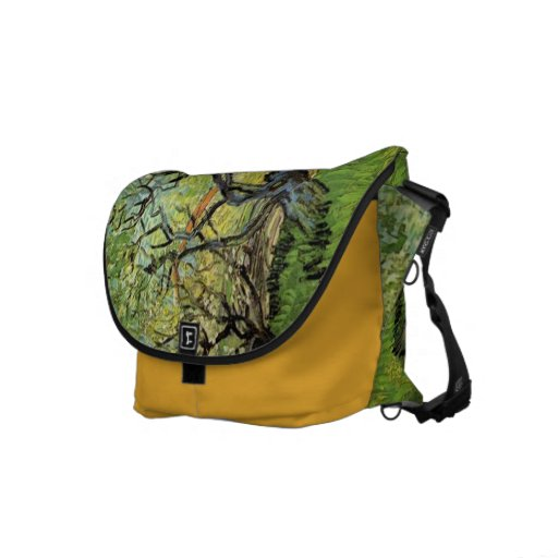 Vincent van Gogh,Orchard in Blossom Commuter Bags