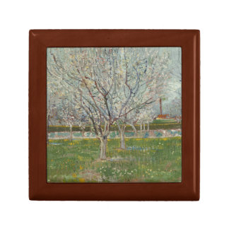 Vincent van Gogh - Orchard in Blossom Keepsake Box