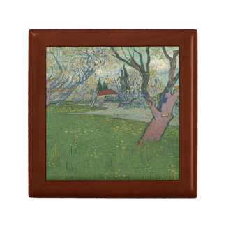 Vincent van Gogh - Orchards in Blossom Jewelry Box