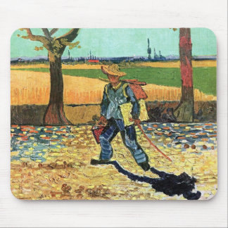 Vincent Van Gogh - Painter On His Way To Work Mouse Pad
