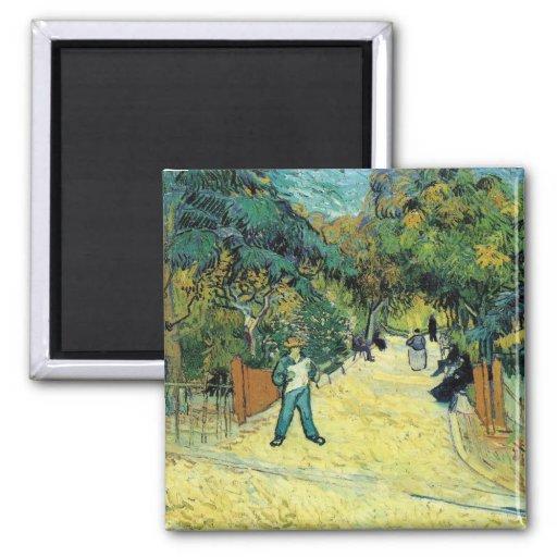 Vincent Van Gogh Painting Magnet