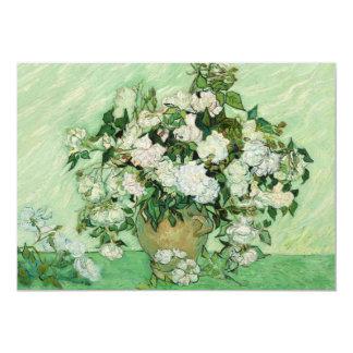 Vincent van Gogh Painting, Roses 1890 Card