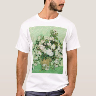Vincent van Gogh Painting, Roses 1890 T-Shirt