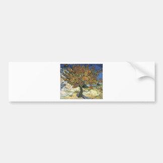 Vincent Van Gogh Painting: Van Gogh Mulberry Tree Bumper Sticker