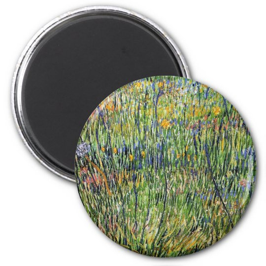 Vincent Van Gogh - Pasture In Bloom Fine Art Magnet