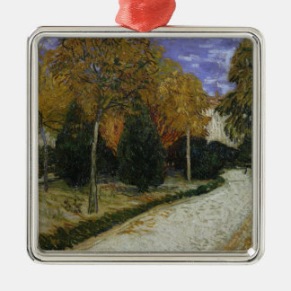 Vincent van Gogh | Path in the Park at Arles, 1888 Metal Ornament