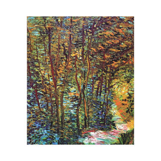 Vincent Van Gogh - Path In The Woods Fine Art Canvas Print