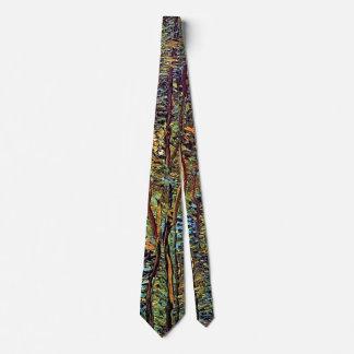 Vincent Van Gogh - Path In The Woods Fine Art Neck Tie