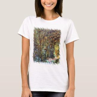 Vincent Van Gogh - Path In The Woods Fine Art T-Shirt