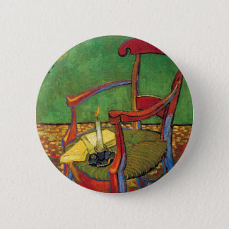 Vincent Van Gogh - Paul Gauguin's Armchair Button