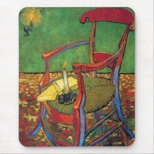 Vincent Van Gogh   Paul Gauguinu0027s Armchair Mouse Pad