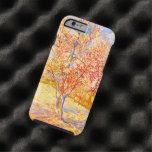 Vincent Van Gogh Peach Tree in Blossom Vintage Tough iPhone 6 Case
