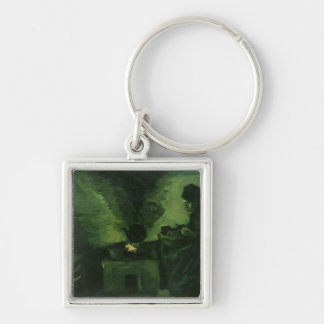 Vincent van Gogh | Peasant Woman by the Hearth Keychain