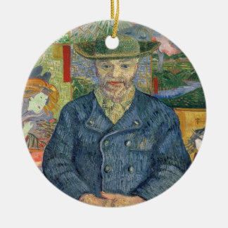 Vincent van Gogh | Pere Tanguy (Father Tanguy) Ceramic Ornament