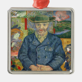 Vincent van Gogh | Pere Tanguy (Father Tanguy) Metal Ornament