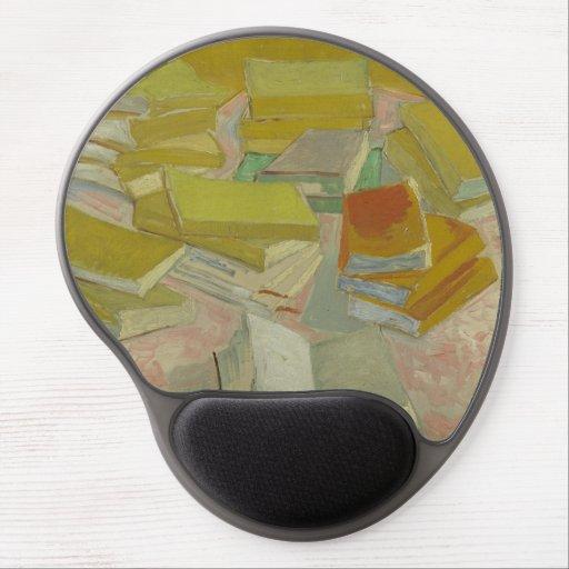 Vincent van Gogh - pilas de novelas francesas Alfombrillas Con Gel