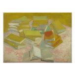 Vincent van Gogh - pilas de novelas francesas Foto