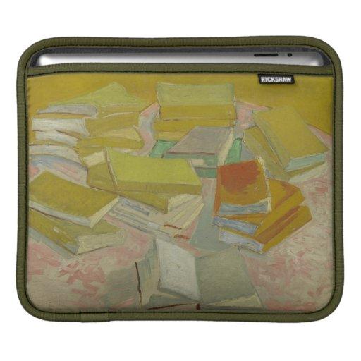 Vincent van Gogh - pilas de novelas francesas Funda Para iPads