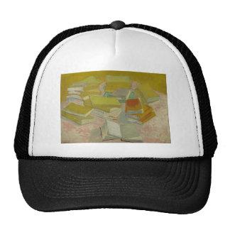 Vincent van Gogh - pilas de novelas francesas Gorras