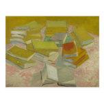 Vincent van Gogh - pilas de novelas francesas Postal
