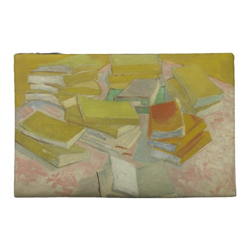 Vincent van Gogh - Piles of French novels Travel Accessory Bags
