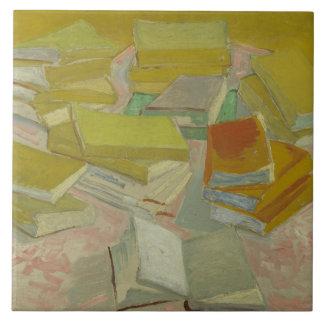 Vincent van Gogh - Piles of French Novels Ceramic Tile